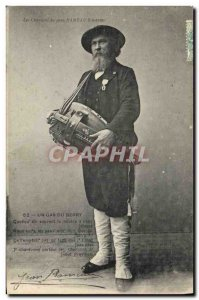 Old Postcard Folklore songs of Jean Rameau illustrees A gas Berry Music