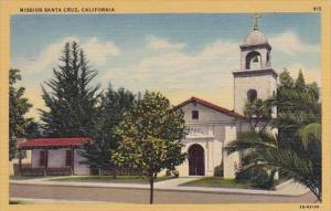 Mission Santa Cruz San Francisco California