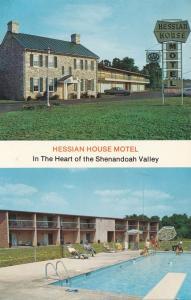 Hessian House Motel in the Shenandoah Valley - Staunton VA, Virginia