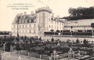 France Villandry Le Chateau et les Jardins The Castle and Gardens
