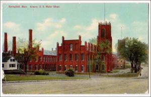 Armory, Springfield MA   (creases)