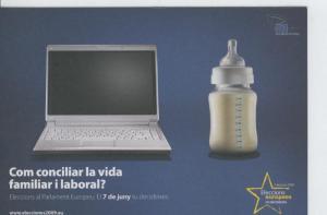 Postal 6612 : Publicitaria elecciones al parlamento europeo