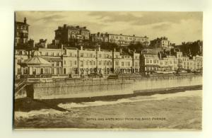 tp6686 - Sussex - The Baths and White Rock from the Band Parade c1921 - Postcard