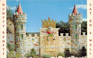 Oak Ridge, New Jersey, NJ, USA Postcard Fairy Tale Forest, Humpty Dumpty Unused