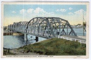 Newburyport, Mass, Highway Bridge Over Merrimack River