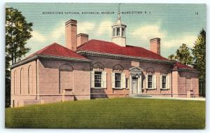 Postcard NJ Morristown The Morristown National Historical Museum R07