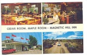 4-Views, Magnetic Hill Inn, Magnetic Hill, New Brunswick, Canada, 1940-1960s