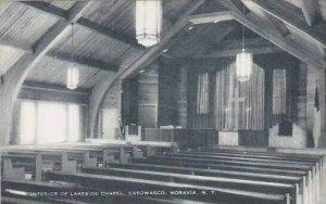 New York Moravia The Interior Of Lakeside Chapel Caswasco Artvue