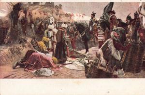 Pap Henrik - Nograd visszafoglalasa Hungary early art postcard
