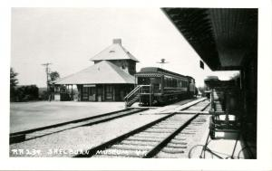 VT - Shelburne. Railroad Station, Depot at Museum  *RPPC