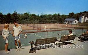 The Concord Hotel, Kiamesha Lake, Monticello N.Y., USA Tennis, Old Vintage An...
