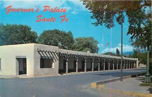 Governor's Palace Santa Fe New Mexico NM Postcard
