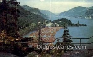 Columbia River Gorge, Oregon Post Card ;      :             Columbia River Go...