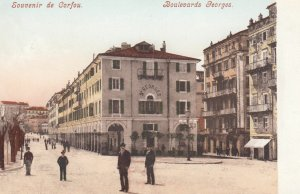 CORFU , Greece , 1900-10s ; Boulevards Georges