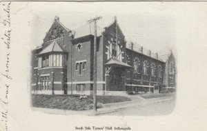 INDIANAPOLIS , Indiana , 1907 ; South Side Turners' Hall