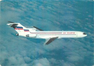 Postcard Transportation Air Charter filiale france inter boeing 727-228 F-GCMX