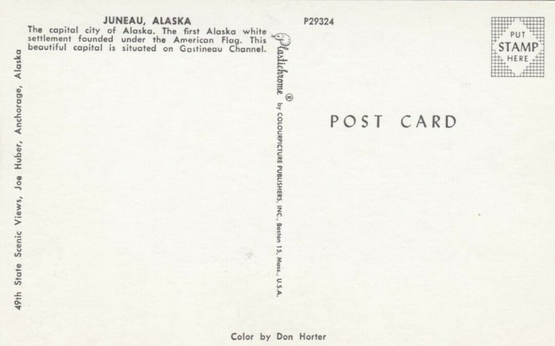 Greetings from JUNEAU , Alaska, 50-60s