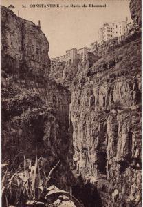Le Ravin Du Rhummel, CONSTANTINE, Algeria, Africa, 1900-1910s