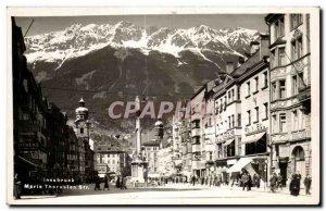 Old Postcard Innsbruck Meria Thereslen Str