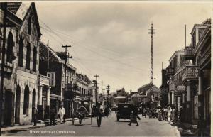 RP: Curacao , Netherland Antilles , 20-40s ; Street view ; Breedestraat Otrab...