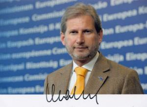 Johannes Hahn Austrian Politics Politician Hand Signed Photo