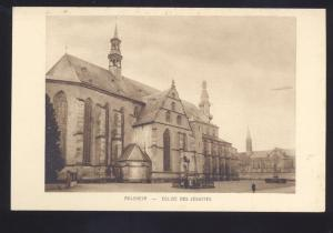 MOLSHEIM EGLISE DES JESUITES CHURCH GERMANY ANTIQUE VINTAGE POSTCARD
