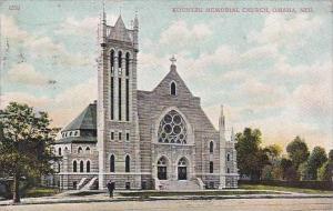 Nebraska Omaha Kountze Memorial Church 1907