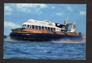 UK Hovercraft Boat Ship SRN. 6 Isle of Wight Hampshire United Kingdom Postcard
