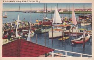 New Jersey Long Beach Island Yacht Basin 1959