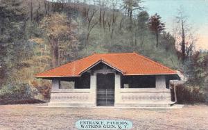 Entrance, Pavilion, WATKINS GLEN, New York, PU-1912