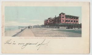VA Virginia Beach Princess Anne Hotel 1904 Postcard