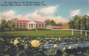 KIMBERLIN HEIGHTS , Tennessee , 30-40s ; Johnson Bible College , Lotus Pool