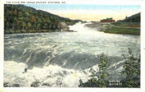 The Falls & Power Station in Rumford, Maine