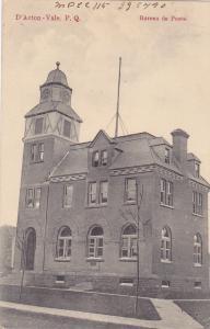 D'Acton - Vale , Quebec , Canada , 00-10s ; Bureau de Poste , PU-1910
