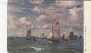 TREPORT , France , 1904 ; Fishing boats ; TUCK 6483