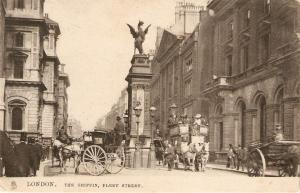 London. The Griffin. Fleet Street Tuck Town & City Ser. PC # 2000