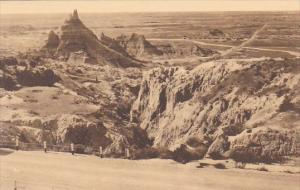 Vampire Peak The Badlands Nat Monument South Dakota Albertype