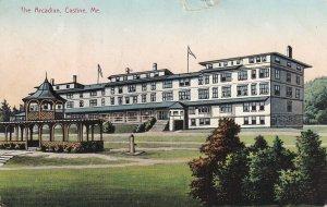 CASTINE, Maine, PU-1910; The Arcadian