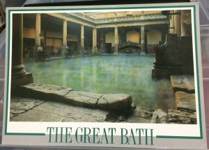 England The Great Bath - unposted