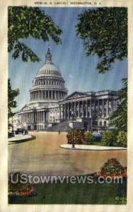 Capitol Building Washington DC DC 1939