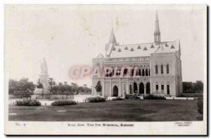 Pakistan - Karachi - King Row - The 7th Memorial Old Postcard