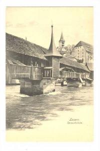 Luzern, Spreuerbruke, Switzerland, 00-10s