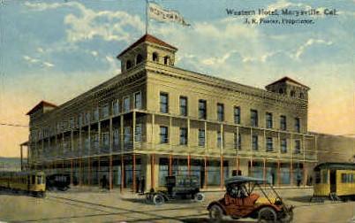 Western Hotel Marysville Ca Unused