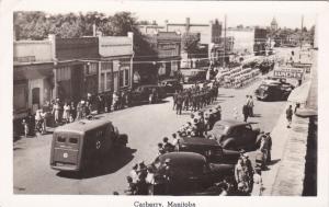 RP: Main Street , Parade, Ambulance , CARBERRY , Manitoba , Canada , 30-40s