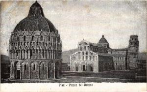 CPA PISA Piazza del Duomo . ITALY (468181)