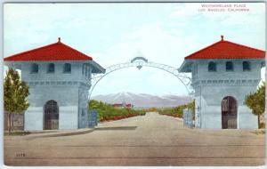 LOS ANGELES, California CA  Entrance ARCH - WESTMORELAND PLACE c1910s  Postcard