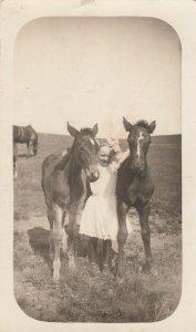 RP: Girl & two horses , 00-10s