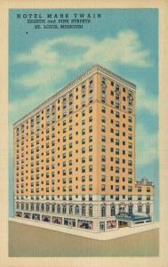 USA - Hotel Mark Twain Eight Sand Pine Streets St Louis 01.65
