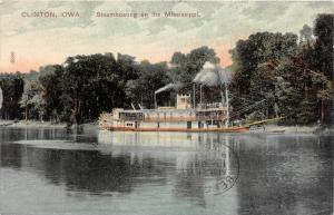 10897   IA  Clinton   Steam boating on the Mississippi