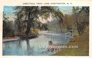 Greetings from Lake Huntington NY 1927